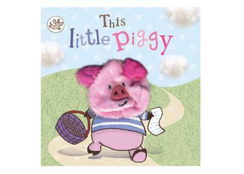 This Little Piggy Finger Puppet Board Book