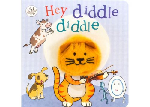 Hey Diddle Diddle Finger Puppet Board Book