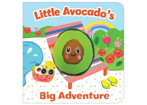 Little Avocado's Big Adventure Finger Puppet Book