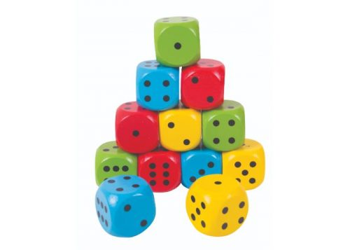Bigjigs Toys Wooden Giant Dice
