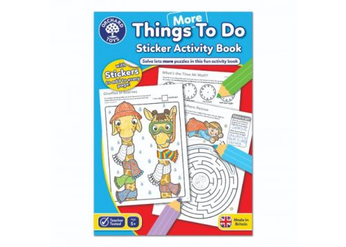 Orchard Toys More Things To Do Sticker Activity Book