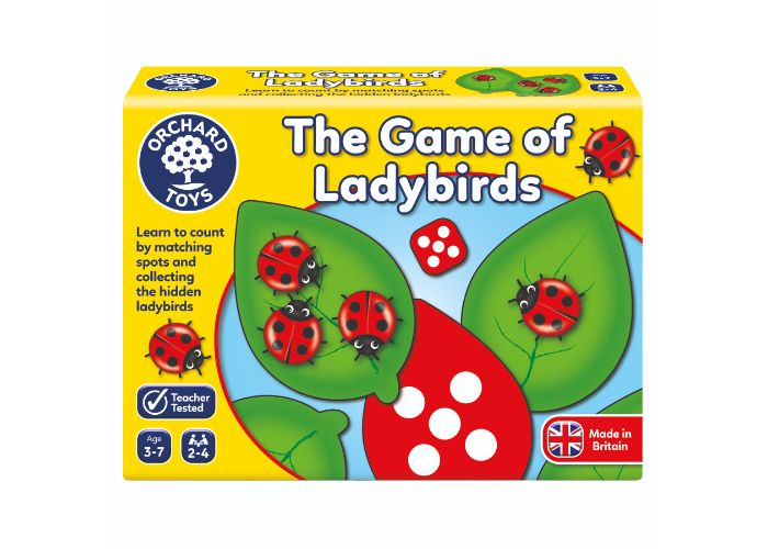 Orchard Toys The Game of Ladybirds Fun Learning Game