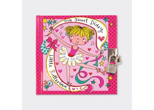 Rachel Ellen Little Ballerina Lockable Secret Diary