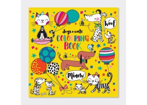 Rachel Ellen Designs Dogs and Cats Colouring Book