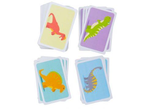 Bigjigs Toys Snap Dinosaurs Card Game