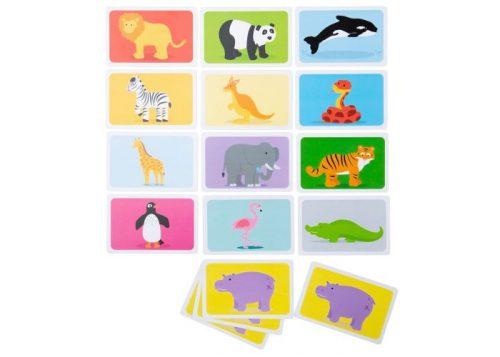 Bigjigs Toys Snap Wild Animals Card Game