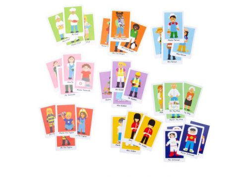 Bigjigs Toys Happy Families Card Game