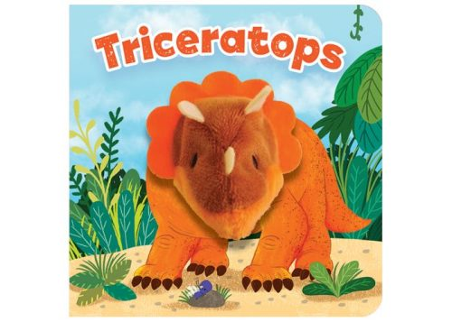 Triceratops Chunky Finger Puppet Board Book