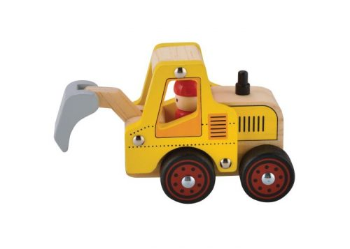 House of Marbles Wooden Digger Vehicle
