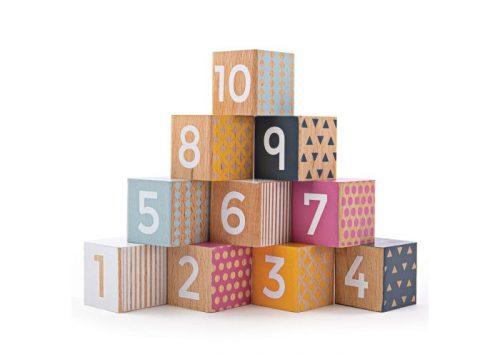 Bigjigs Toys 100% FSC® Certified Number Blocks