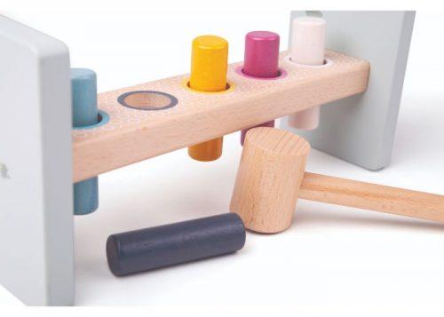 Bigjigs Toys 100% FSC® Certified Hammer Bench