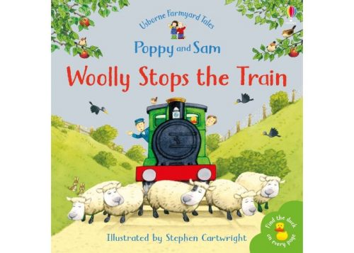 Usborne Poppy and Sam Woolly Stops The Train