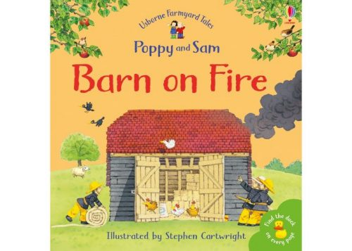 Usborne Poppy and Sam Barn on Fire