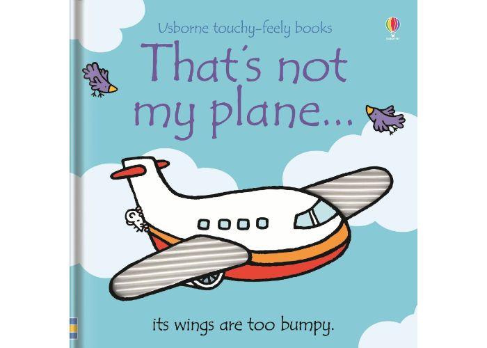 Usborne That's Not My Plane Board Book