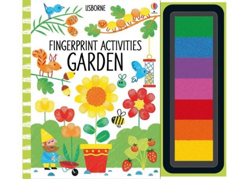 Usborne Fingerprint Activities Garden Book
