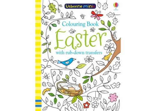 Usborne Minis Colouring Book Easter