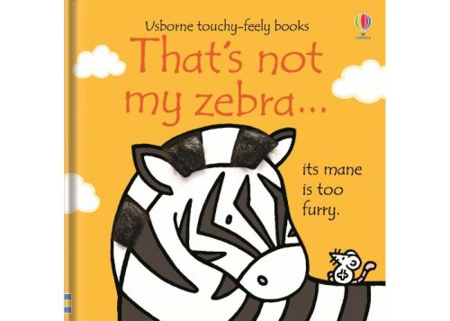 Usborne That's Not My Zebra Board Book