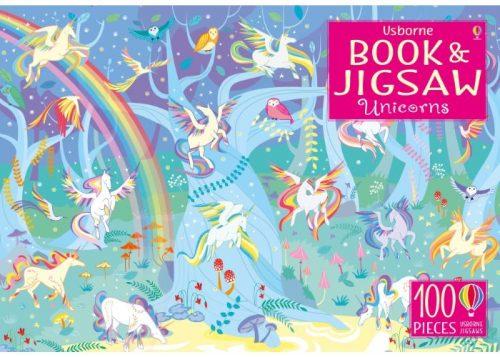 Usborne Book and Jigsaw Unicorns