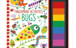 Usborne Fingerprint Activities Bugs