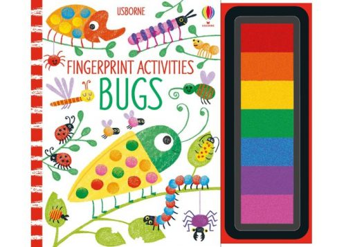 Usborne Fingerprint Activities Bugs