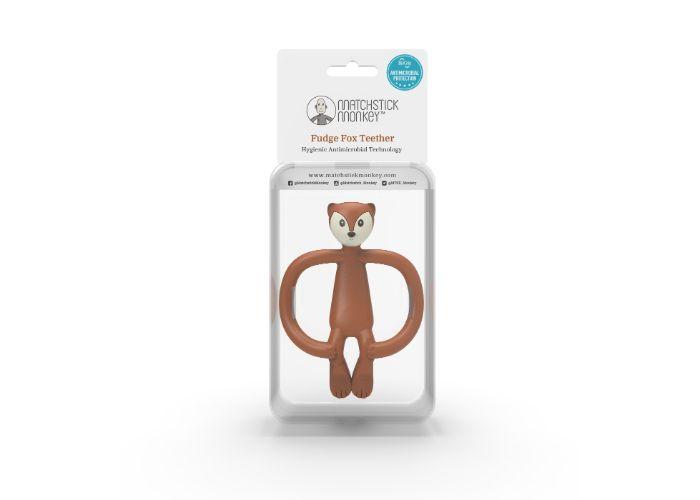 Matchstick Monkey Fudge Fox Animal Teether