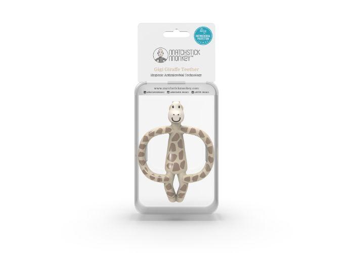 Matchstick Monkey Gigi Giraffe Animal Teether