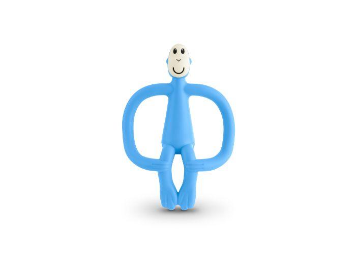 Matchstick Monkey Light Blue Original Monkey Teether
