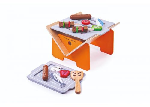 Bigjigs Toys Wooden Tabletop BBQ