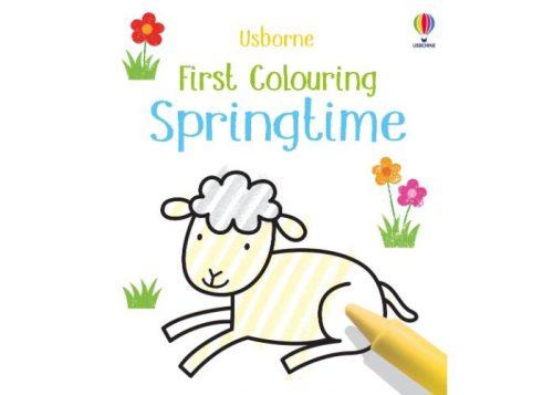Usborne First Colouring Springtime