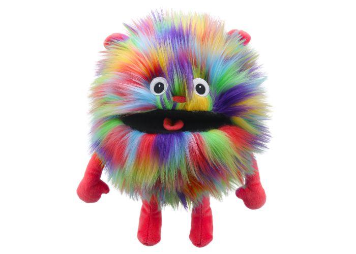 Rainbow Baby Monster Hand Puppet