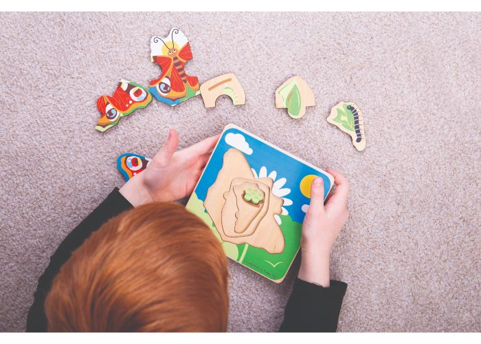 Bigjigs Toys Butterfly Lifecycle Layer Puzzle