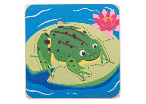 Bigjigs Toys Frog Lifecycle Layer Puzzle