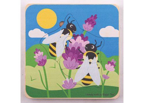 Bigjigs Toys Honeybee Lifecycle Layer Puzzle