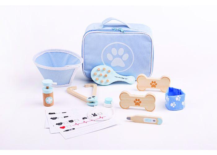 Bigjigs Toys Wooden Veterinary Set