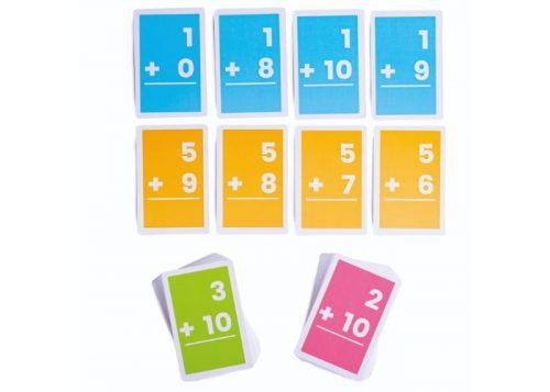Bigjigs Toys 1-10 Additions Flashcards