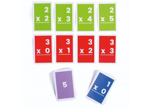 Bigjigs Toys 1-6 Multiplications Flashcards