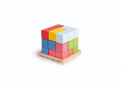 Bigjigs Toys Lock-a-Cube Wooden Puzzle