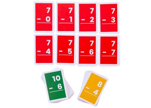 Bigjigs Toys 1-10 Subtractions Flashcards