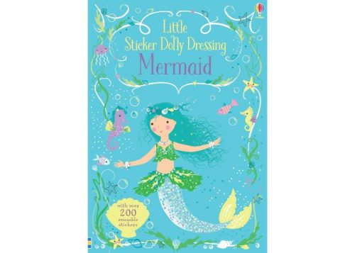 Usborne Little Sticker Dolly Dressing Mermaid