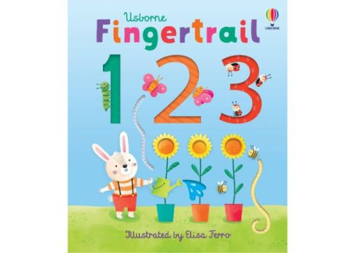 Usborne Fingertrail 123 Board Book
