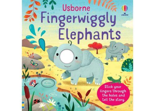 Usborne Fingerwiggly Elephants Board Book