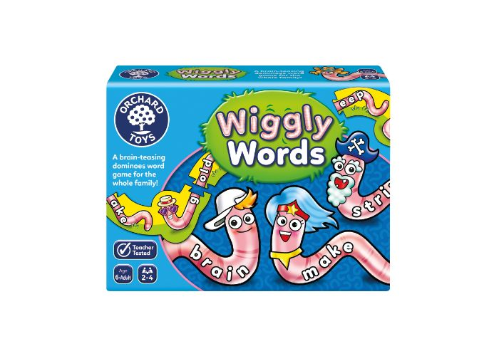 Orchard Toys Wiggly Words Fun Learning Game