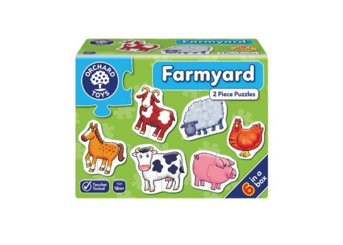 Orchard Toys Farmyard 2 Piece Puzzles