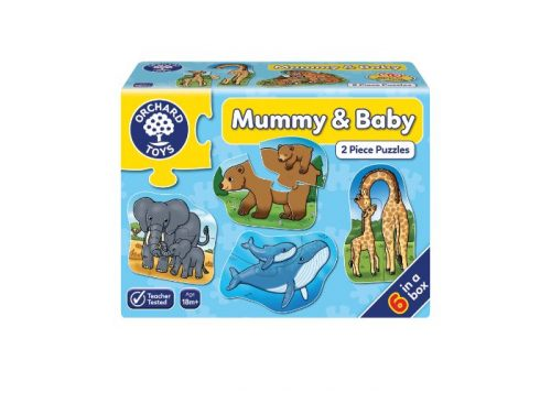 Orchard Toys Mummy & Baby 2 Piece Puzzles