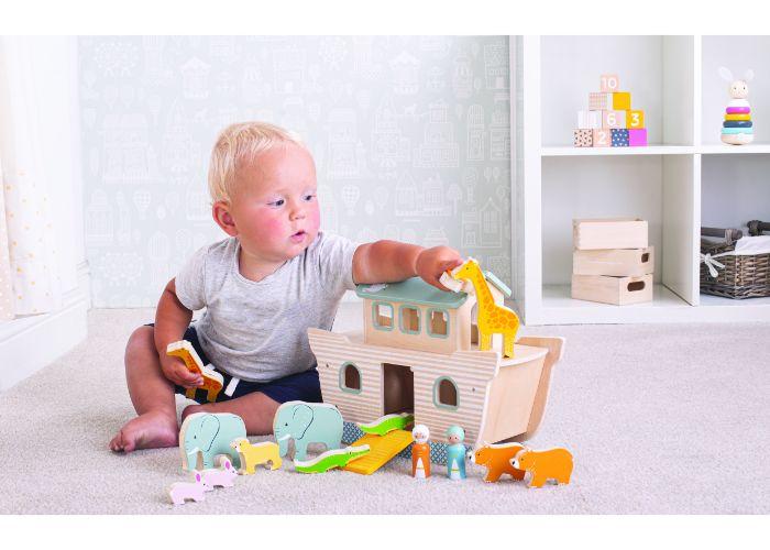 Bigjigs Toys 100% FSC® Certified Noah's Ark