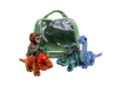 Dinosaur House Hide-Away Puppets