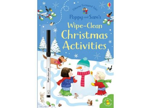 Usborne Poppy and Sam's Wipe-Clean Christmas Activities