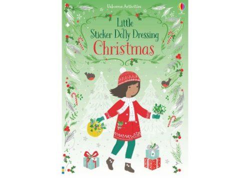 Usborne Little Sticker Dolly Dressing Christmas