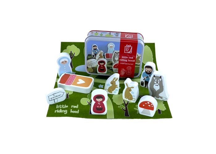 Apples to Pears Gift in a Tin Little Red Riding Hood