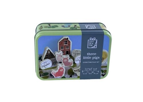 Apples to Pears Gift in a Tin Three Little Pigs